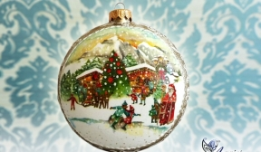 Decoupage Tutorial - Christmas Medallion - DIY Tutorial